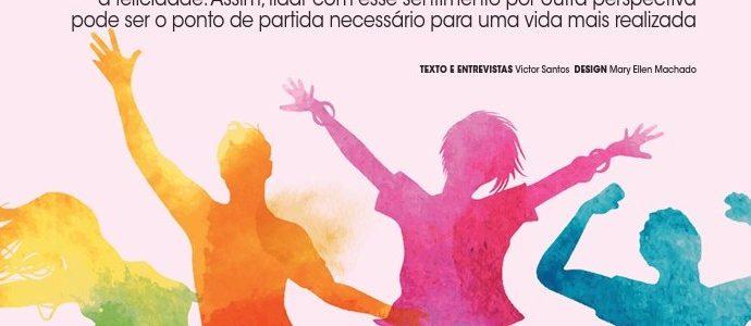 Matéria Sobre Felicidade na Revista Ciência em Foco